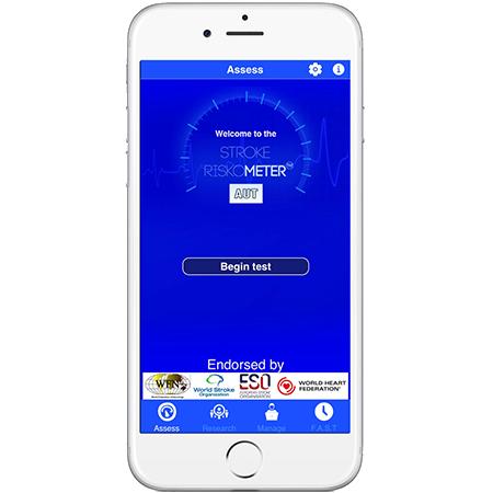 Stroke Riskometer app